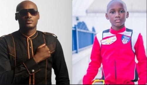 2baba Celebrates Son; Nino Idibia On His 14th Birthday, Shares Adorable Throwback Pictures