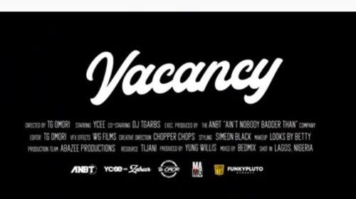 """Ycee - """"Vacancy"""""""