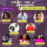 Fab Self-Care Hangout 4 Singles, Married and Couples