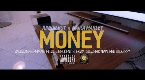 "[Video] Junior Boy – ""Money"" ft. Naira Marley"