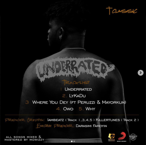 "T Classic – ""Where You Dey"" ft. Peruzzi x Mayorkun"
