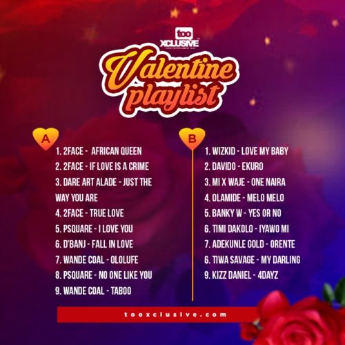 Which Out Of These Valentine Playlists Would You Download… 'A' or 'B' ? 2