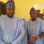 Davido's Brother, Adewale Adeleke & Wife Hold Lavish White Wedding in Abu Dhabi || See Photos