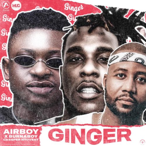 "Airboy – ""Ginger"" ft. Burna Boy x Cassper Nyovest"