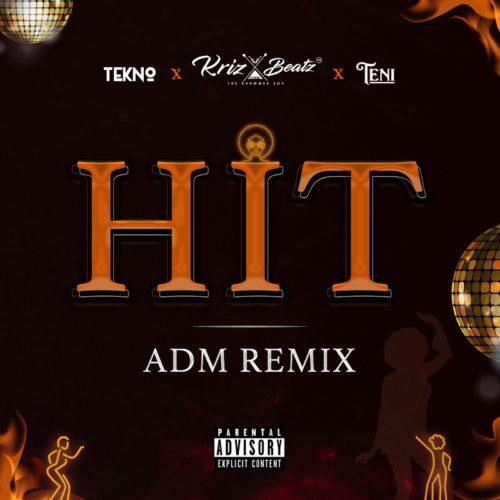 "Krizbeatz x Tekno x Teni – ""HIT ADM Remix"""