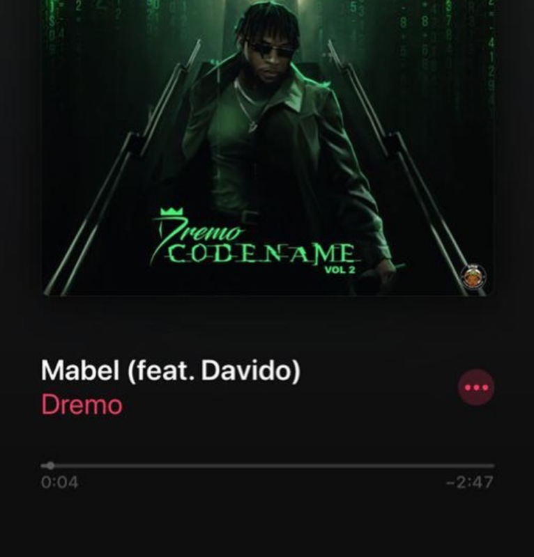 Dremo Mabel Davido