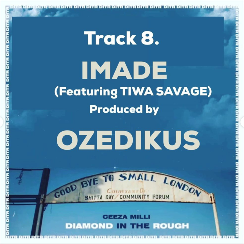"""Ceeza Milli – """"Imade"""" ft. Tiwa Savage"""