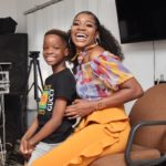 Wizkid's First Baby Mama, Shola Ogudu Gushes Over Son, Tife As His 9th Birthday Approaches