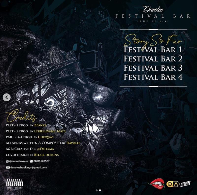 """[EP] Davolee – """"Festival Bar"""" The EP 1"""