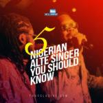 5 Talented Nigerian Alté Singers You Should Know