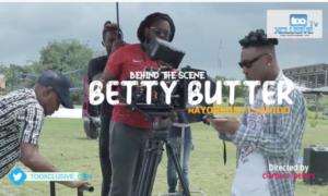Mayorkun Betty Butter BTS