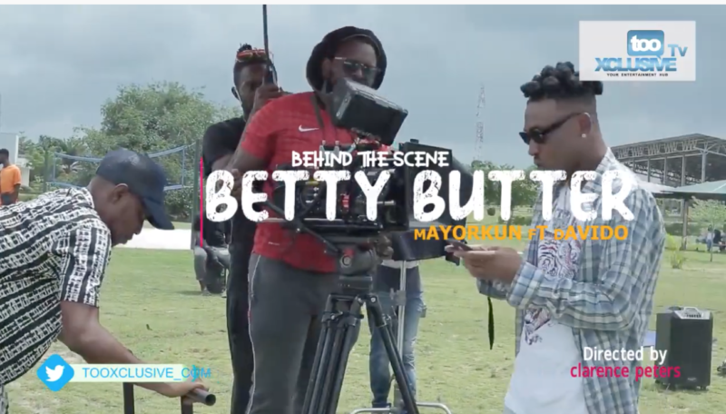 Mayorkun Betty Butter BTS