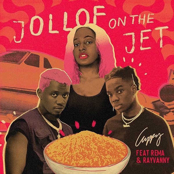 DJ Cuppy Rema Rayvanny Jollof On The Jet