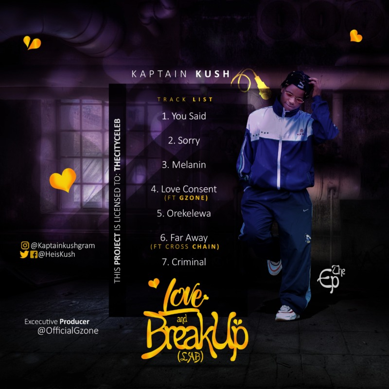 "[EP] Kaptain Kush – ""Love and Breakup"" (L.A.B) 1"