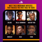 Best 6 Nigeria's New Wave Artistes That Rocked The First Half Of 2020