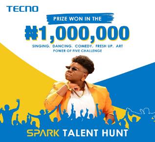 TECNO Wraps Up Spark 5 Talent Hunt, Giving Away 1 Million Naira 1