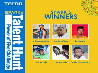 TECNO Wraps Up Spark 5 Talent Hunt, Giving Away 1 Million Naira 3