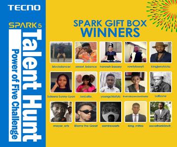 TECNO Wraps Up Spark 5 Talent Hunt, Giving Away 1 Million Naira 4