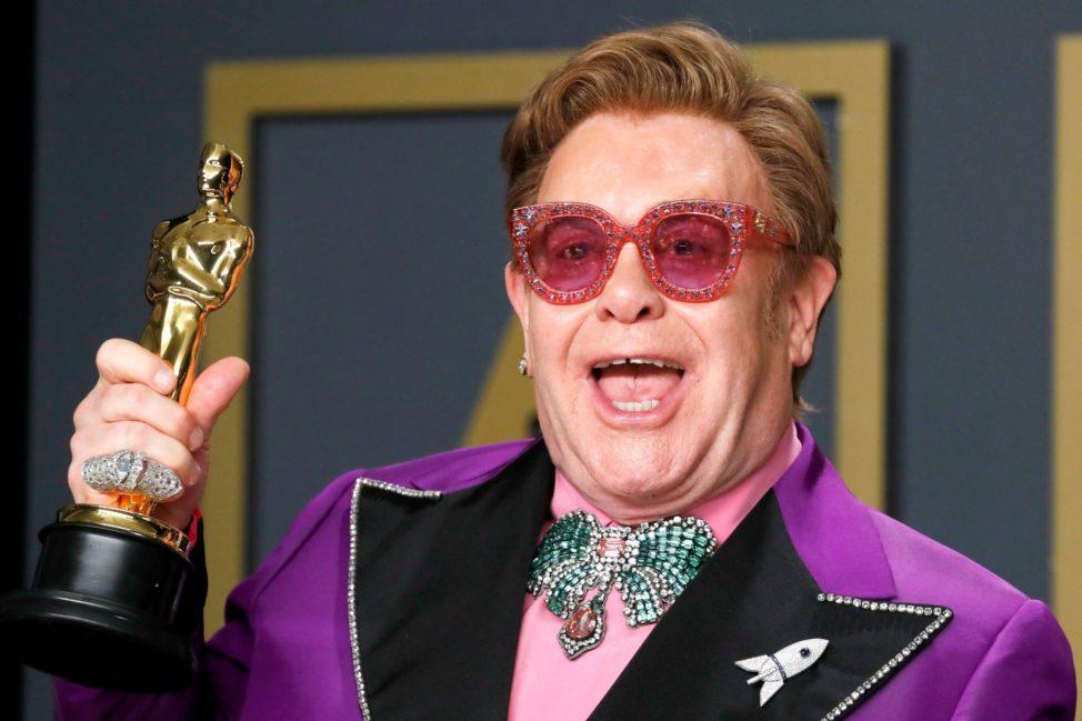 "British Singer, Elton John Reveals He Saw ""God"" After Smoking Weed During A Music Session 1"
