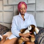Nigerians Drag Cuppy For Tongue-Kissing Her Dog, Dudu