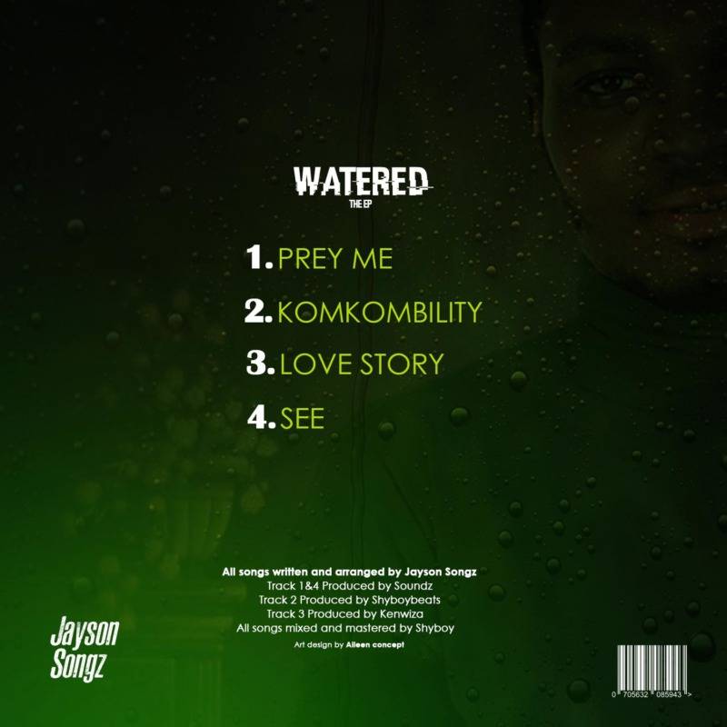 "[EP] Jayson Songz – ""Watered"" 1"