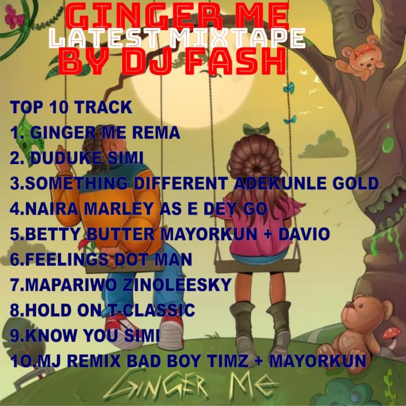 DJ Fash Ginger Me Latest Song Mixtape