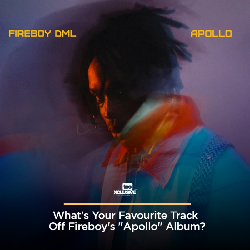 "What's Your Favourite Track Off Fireboy's ""Apollo"" Album ? 1"