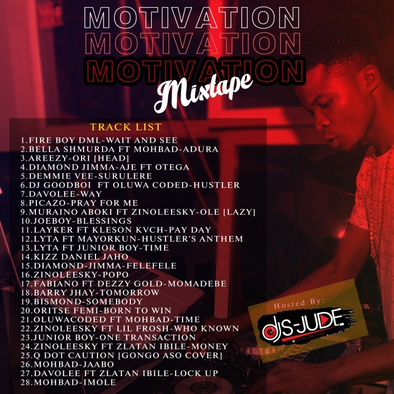 Dj S-Jude Motivation Mixtape