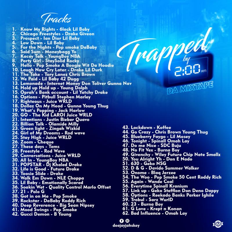"""DJ Jayskey – """"Trapped By 2AM"""" Da Mixtape 1"""