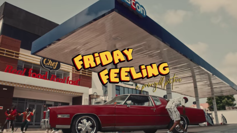 Fireboy DML Friday Feeling