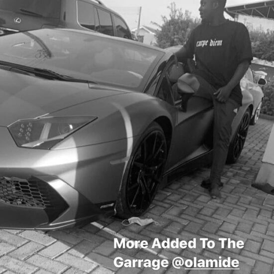 Olamide Reportedly Lavishes Over 218 Million Naira On Brand New Lamborghini Aventador 4