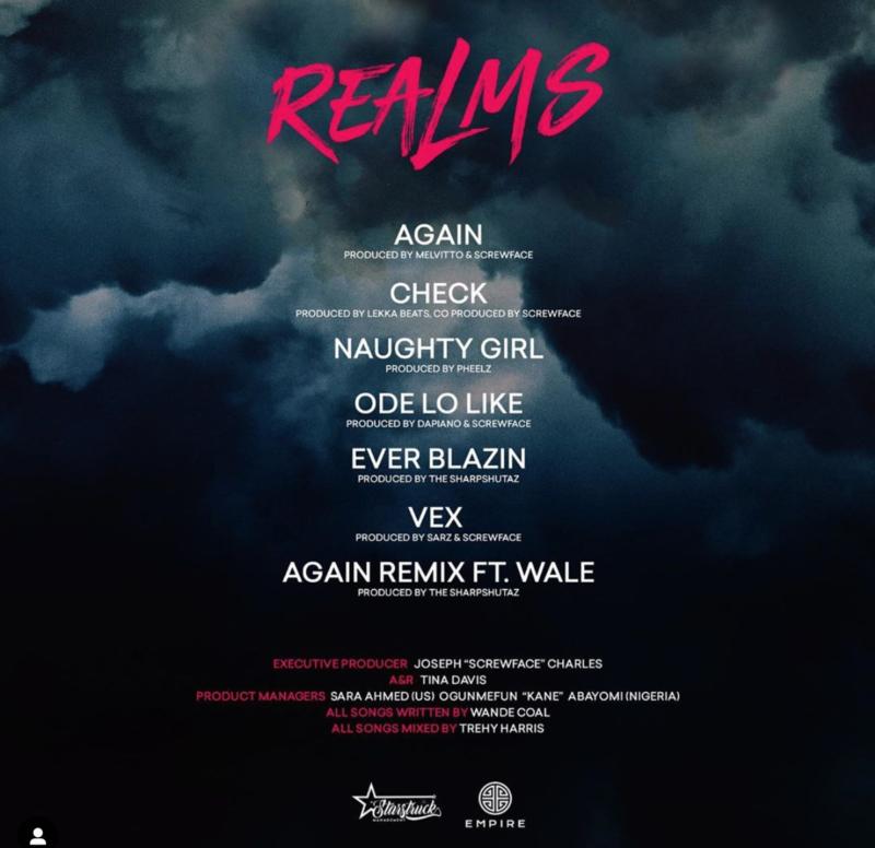 "[EP] Wande Coal – ""Realms"" 1"
