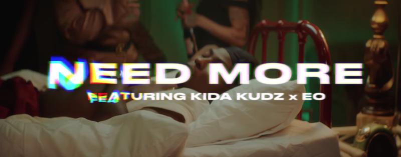 "[Video] Reekado Banks – ""Need More"" ft. Kida Kudz, EO 1"