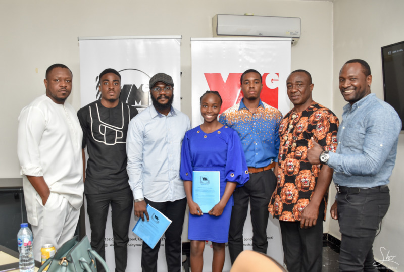 16 year old CHISOM LAUREL Signs a £50,000 Recording Deal with Virtuosity Music Group 2