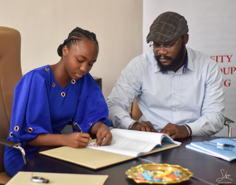 16 year old CHISOM LAUREL Signs a £50,000 Recording Deal with Virtuosity Music Group 4