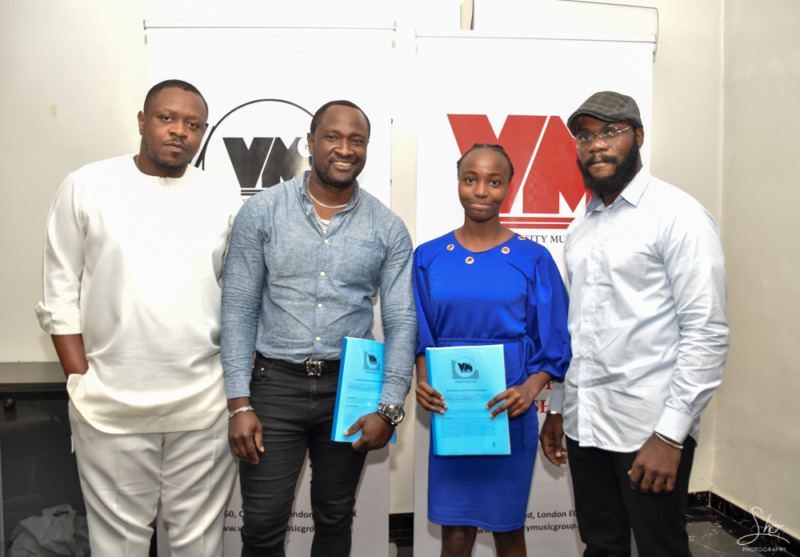 16 year old CHISOM LAUREL Signs a £50,000 Recording Deal with Virtuosity Music Group 5