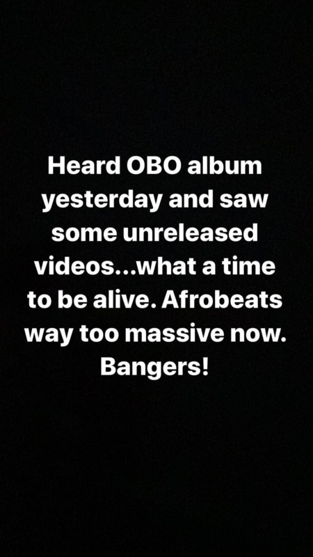 """Olamide Endorses Davido's """"A Better Time"""" Album, Says It's Filled With Bangers 2"""