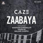 """CaZe – """"Zaabaya"""" ft. Amapiano Chronicles, Palesa M, Malume Choppie"""