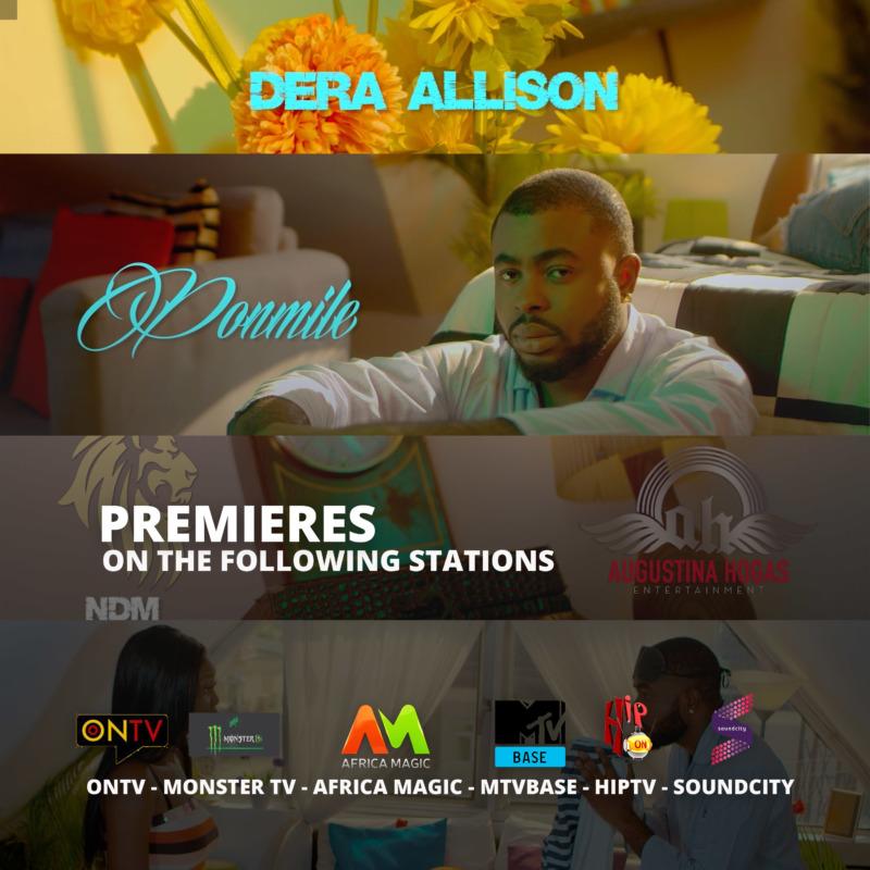"VIDEO PREMIERE: Dera Allison – ""Ponmile"" 1"