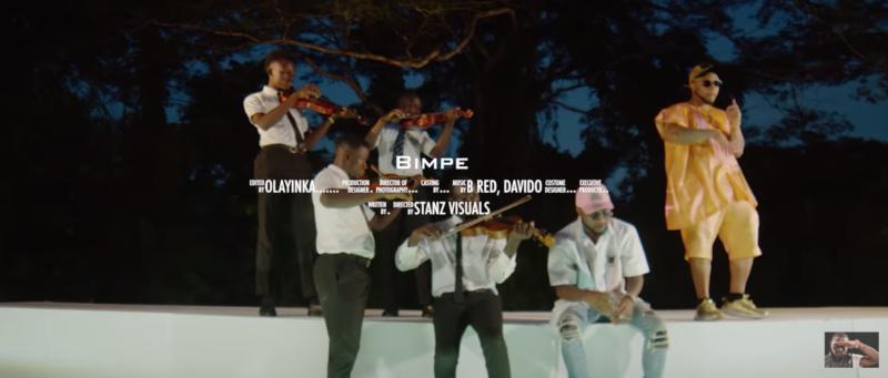 "Video] B-Red – ""Bimpe"" ft. Davido « tooXclusive"