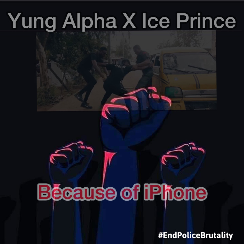 Ice Prince Because Of Iphone