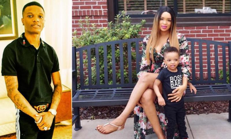 Wizkid Finally Settles With His Second Babymama, Binta Diamond Diallo 1