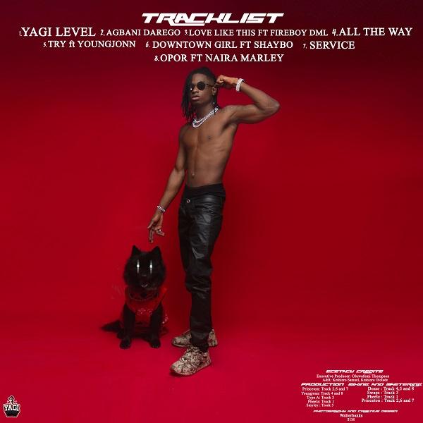 """Lil Kesh Unveils """"Ecstasy"""" Art & Tracklist; Features Fireboy DML & Naira Marley 2"""