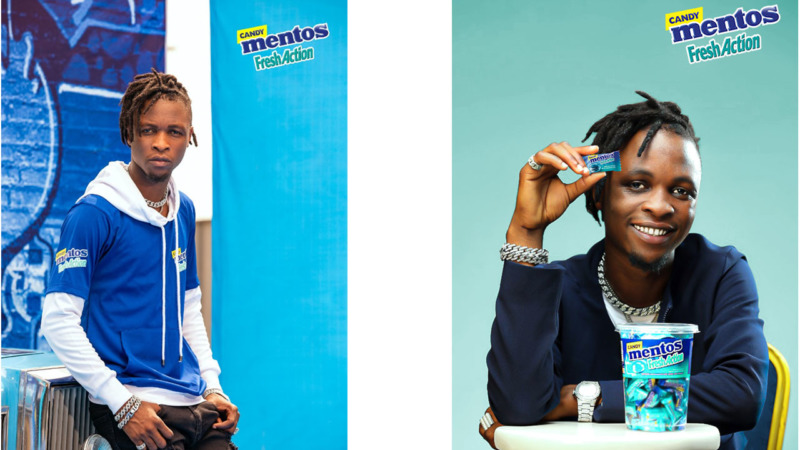 Mentos Fresh Action Candy Unveils Laycon as The New Face of Fresh 1
