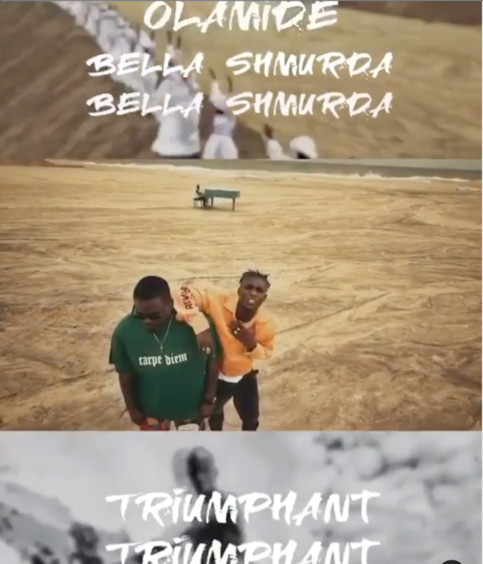 Olamide Bella Shmurda Triumphant