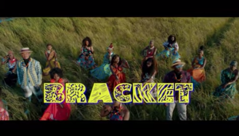 Bracket African Woman Video