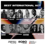 Burna Boy, Wizkid, Davido, Tiwa Savage, Rema & Others Nominated At 2020 MOBO Awards || See Full List