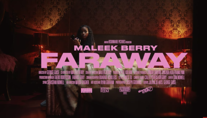 Maleek Berry Far Away