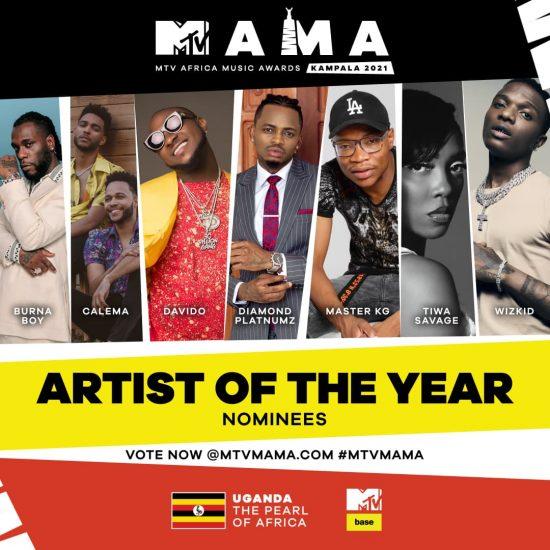 Wizkid, Burna Boy, Davido, Omah Lay, Earn Nominations At ...