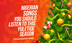 Nigerian Songs Christmas Playlist